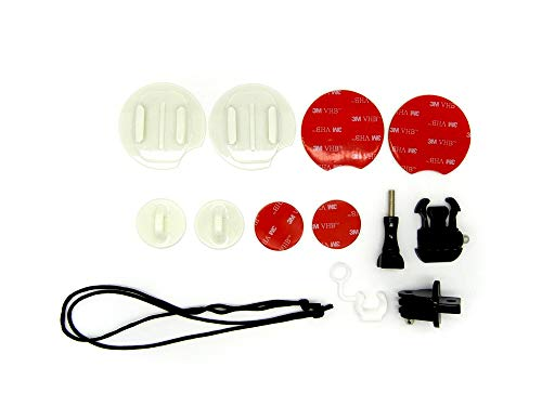 Easypix 55233 - accessoires voor actiecamera's (camerahouder, surfplank, snowboard, watersport, zwart, rood, wit, GoXtreme, surf-/snowboard)