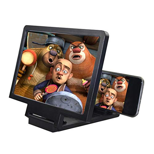 MUDEREK 3D Enlarge Mobile Phone Screen Magnifier Stand for Mobile Phones Stands