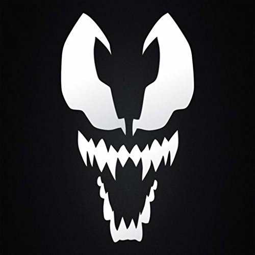 Preisvergleich Produktbild SUPERSTICKI® Spiderman Venom Aufkleber Decal Hintergrund / Maße in inch Vinyl Sticker / Cars Trucks Vans Walls Laptop / White / 3.5 x 5.5 in / CCI281