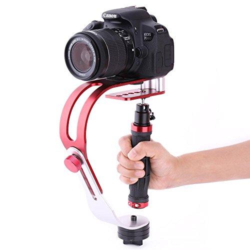 Estabilizador de cámara portátil, Estabilizador de cámara DSLR portátil, Soporte de Soporte de estabilizador de Video portátil Profesional
