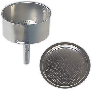 Embudo + Filtro cafetera 9 tazas | TECNHOGAR diámetro 73 mm
