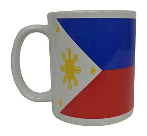 Filipino Flag Coffee Mug Novelty Cup Great Gift Idea For Men Women Philippines