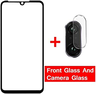 VINTO-Phone Screen Protectors - 2-in-1 Tempered Glass for Redmi Note 7 9s 8t 8 pro redmi 8 7 7A Camera Lens Screen protect...