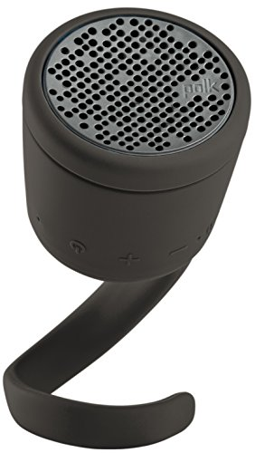 Polk Boom Swimmer Duo Bluetooth-Lautsprecher (wasserdicht) - Mitternachtsschwarz