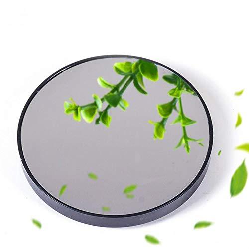 Ningc Mini Miroir portatif à la Maison de Tasse d'aspiration grossissant Le Miroir Rond de Maquillage de Salle de Bains, 7.5cm