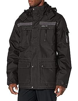 Arctix Men s Performance Tundra Jacket With Added Visibility Black X-Large