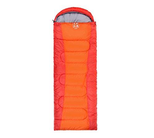 Naturehike Schlafsack Deckenschlafsack Camping Outdoor, Orange, 1,35kg, 5–15Grad