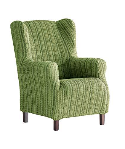 Martina Home Sesselhusse, elastisch Ohrensessel 33x42x8 cm grün