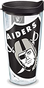 Tervis Las Vegas Raiders NFL Colossal Insulated Tumbler, 24oz, Clear - Tritan by Tervis Tumbler Company
