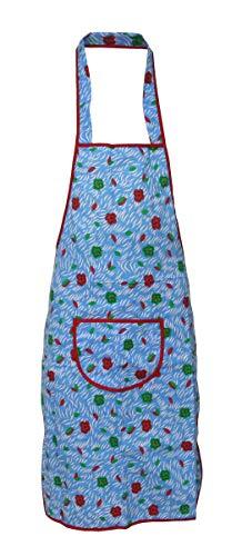 Latzschürze 69x82cm Trägerschürze Grillschürze Schürze Kochschürze Baumwolle, Modell:Modell 3