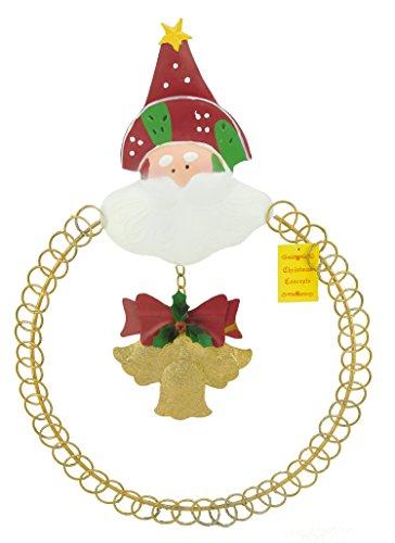 Christmas Concepts® Gold Wohnung Shaped 50cm Sankt-Weihnachtskarte Halter - Enthält 33 Karten