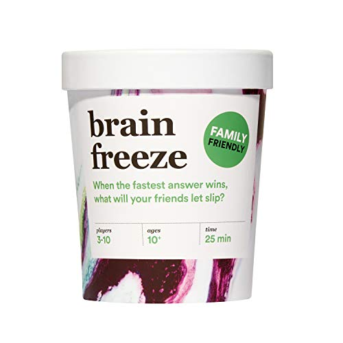 Brain Freeze Family Card Game: The SpeakBeforeYouThink Party Game for All Ages  Family Edition