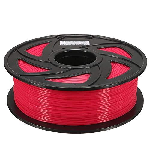 Junlianxianyanglijua 3D Pen Filament Filament PCL 1.75mm Multi-Couleur for Stylo 3D, Faible Poids (Color : Rose)