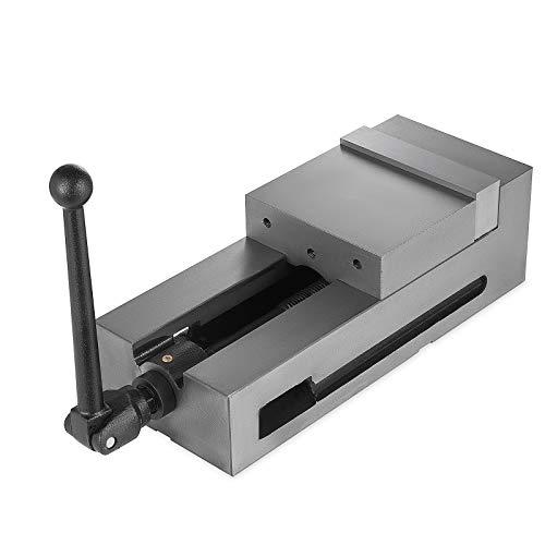 Mophorn Bench Clamp Vise Schraubzwingen-Schraubstock Hohe Präzision Spannstock 6 Zoll Backenbreite 150mm CNC-Schraubstock Spannkraft für den vielseitigen Einsatz (6 Zoll)