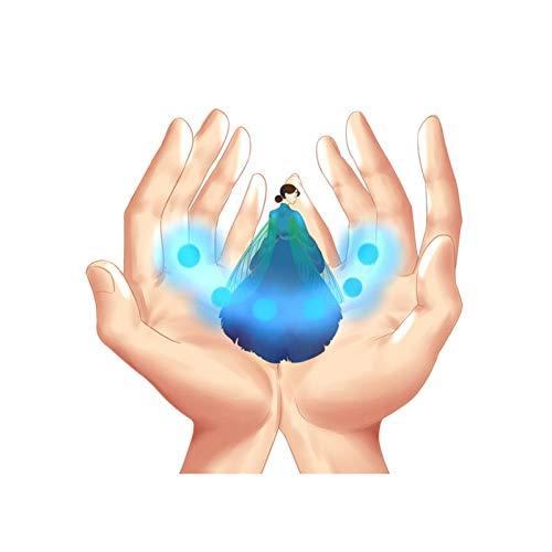 XZCSTY Lichtschalter Aufkleber Kreative Zeichen In Cartoon Fantasy-Welt Schlafzimmer Schalter Aufkleber Schöne Kühle Karikatur Wand Aufkleber Wohnkultur 2 Stück
