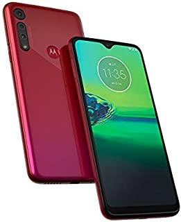"Motorola Moto G8 Play XT2015-2 (32GB) 6.2"" (19:9) HD+ 4G LTE GSM Factory Unlocked Smartphone (International Version) (Raspberry)"