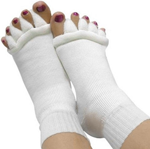 Outop Foot&Toes Alignment Men&Women Socks Tendon Relieve Pain Gift
