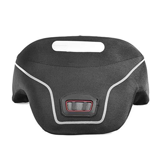 TZTED Motocross Neck Brace Support Nackenschutz Motorrad Nackenprotektor Displayschutzfolie,Black