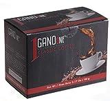 GanoOne Instant Black Coffee with Ganoderma - Reishi Mushroom Extract Breakfast Blend Sugar - Free 30 Single Serve Sachets (Pack of 1)