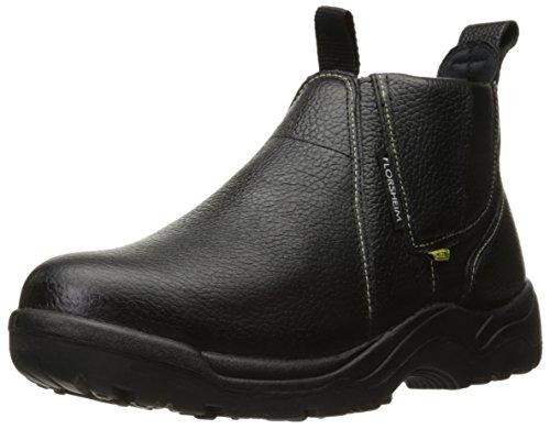Florsheim Work Men's Hercules FE690 Work Shoe, Black, 9 D US