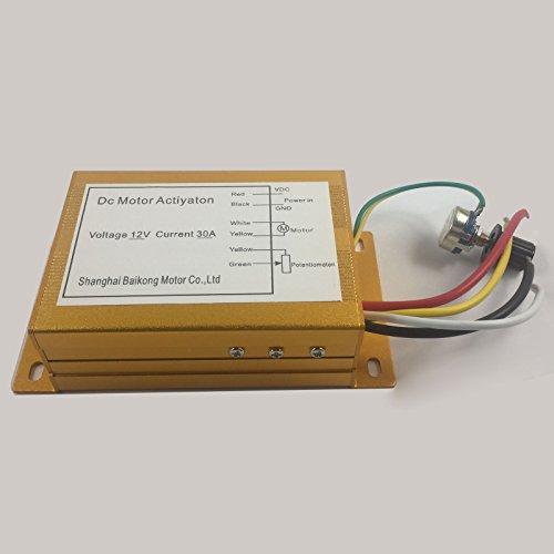 12v 30a 300w Dc Motor commande de vitesse PWM HHO Rc Controller Max 300w