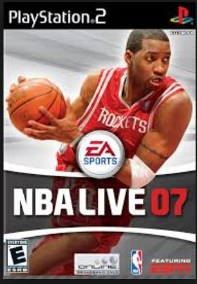 Electronic Arts NBA live 07, PS2