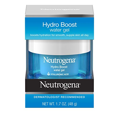 Price comparison product image Neutrogena Hydro Boost Hyaluronic Acid Hydrating Water Face Gel Moisturizer for Dry Skin,  1.7 fl. oz