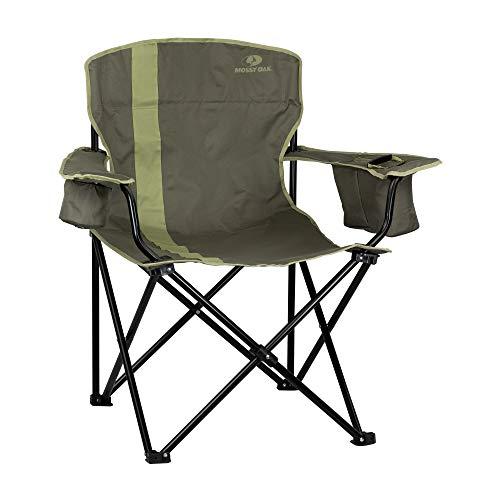 Mossy Oak Heavy Duty Folding Camping Chairs, Lawn Chair