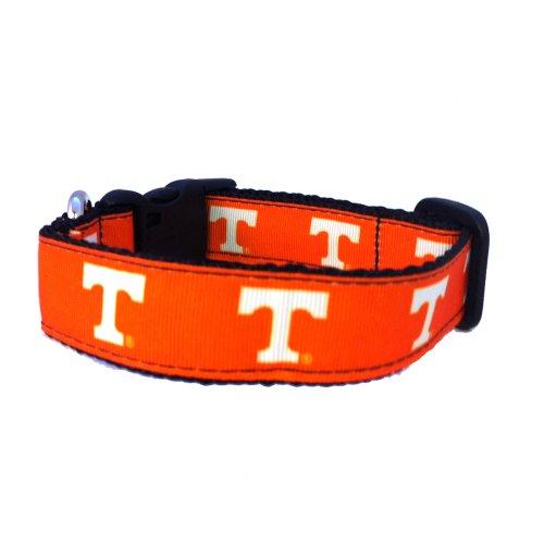 NCAA Tennessee Volunteers Dog Collar (Team Color, Medium)