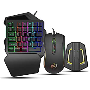 Sutinna-Kombination-aus-Gaming-Tastatur-und-Maus-Tastatur-Mauskonverter-Kit-Gaming-Adapter-Basiskit-Passend-fuer-Android-System-Kompatibel-mit-N-SwitchXbox-ONE-PS4-PS3