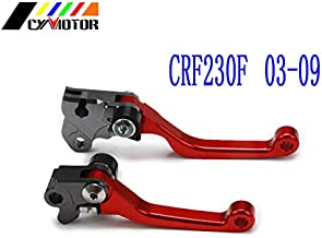 Brakes Motorcycle CNC Pivot Brake Clutch Levers for Honda Cr Crf Sl Xr CRM 80 85 125 150 230 250 400 450 X R L M Motard Ar
