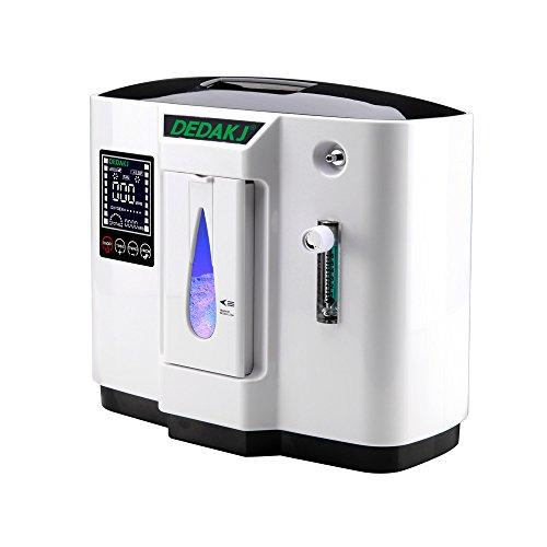 HUKOER Portátiles Ox-ygen Generadores de conc-entrada Máquina doméstica, purificador de aire 90%...