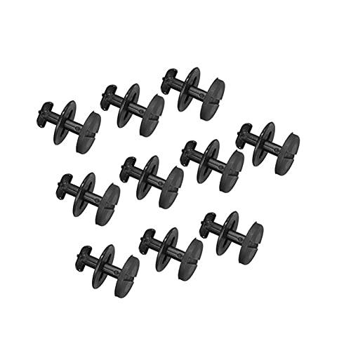 RuYunLong 20 Piezas 25mm Alfombrilla para Suelo de Coche Clips para alfombras con Arandelas Clip de sujeción/Ajuste para -B-M-W E32 E34 E36 E38 E39 E46 / 8211941019