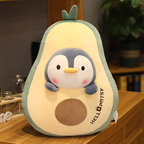 Animal De Dibujos Animados Pingüino Muñeca Aguacate Zanahoria Almohada Regalo De Juguete De Felpa 60cm QE