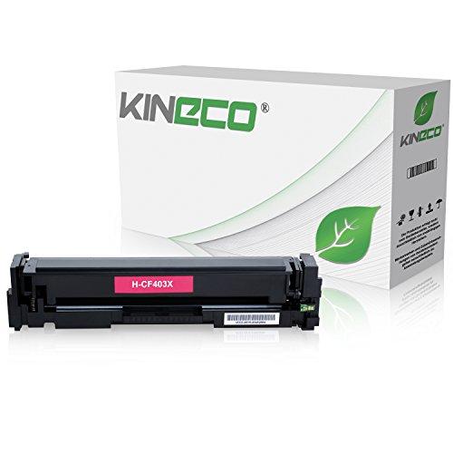 Kineco Toner kompatibel mit HP CF403X Laserjet Pro MFP M277dw, Laserjet Pro MFP M277n, Laserjet Pro MFP M274n, Laserjet Pro M252dw, Laserjet Pro M250 Series - 201X - Magenta 2.300 Seiten