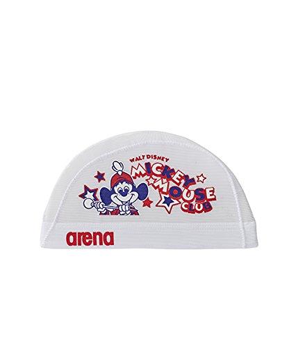arena(アリーナ) スイムキャップ メッシュキャップ ディズニー Sサイズ ホワイト(WHT) DIS-8360
