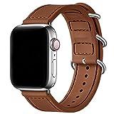 Besband Bracelet de montre sport compatible avec Apple Watch Band 40 mm 38 mm 44 mm 42 mm pour femme homme Bracelet de rechange en silicone souple pour iWatch Series 5/4/3/2/1, Nike+, Sport & Edition, 38mm 40mm