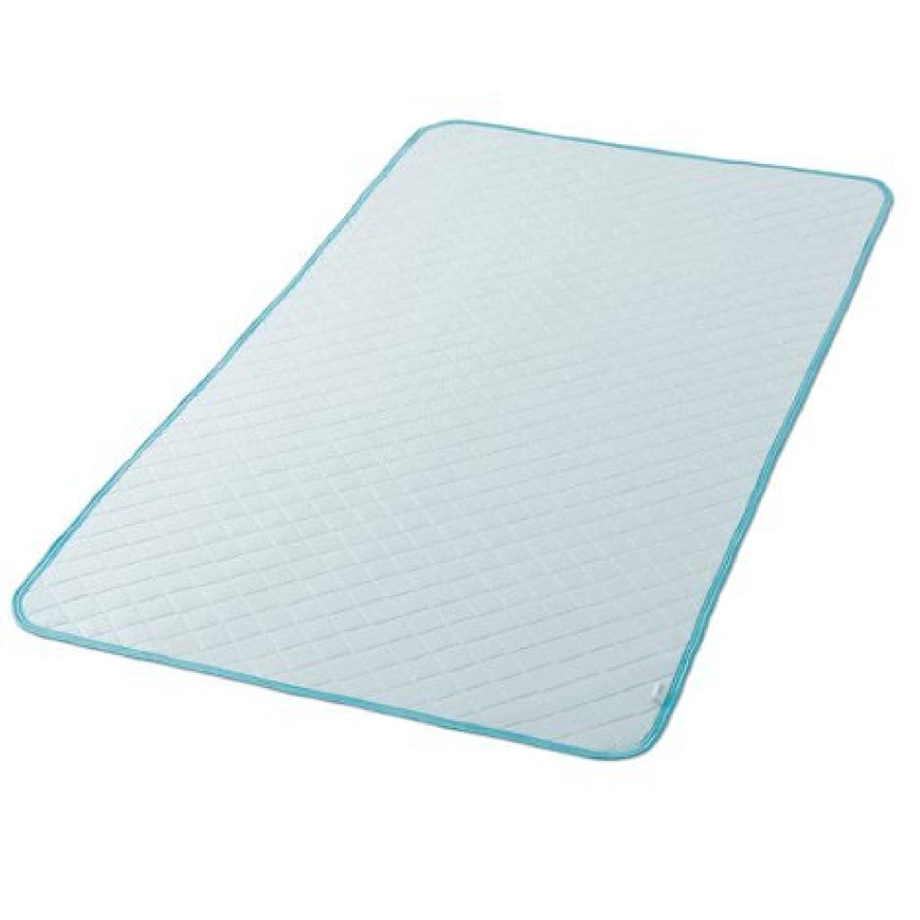 有名憂鬱口実敷きパッド シングル 100×205cm アイスマックス 涼感 冷感 クール