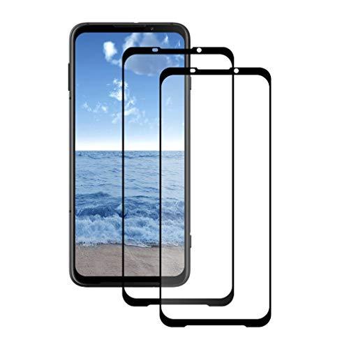 LPCJ Protector de Pantalla para Xiaomi Black Shark 3 Pro, Protector de Pantalla para Xiaomi Black Shark 3 Pro Vidrio Cristal Templado [2 Pack]