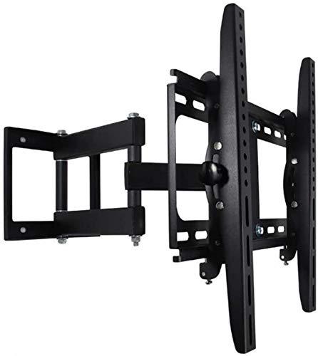 DZCGTP Soporte para TV Soporte de Montaje en Pared de TV articulado de Movimiento Completo para TV de Plasma LED HD 4K de 26-55', inclinación de + 5 ° / -15 ° y 90 °