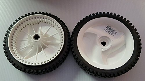 CRAFTSMAN & FITS HUSQVARNA 8' FRONT DRIVE WHEELS 194231X427 532403111 OEM PAIR, NEW,