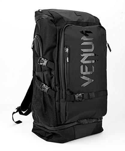 Venum Unisex-Adult Challenger Xtrem Evo Rucksack, Schwarz/Schwarz, eine Größe