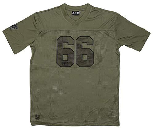 New Era Miami Dolphins NFL Camo Jersey T- Shirt 3XL