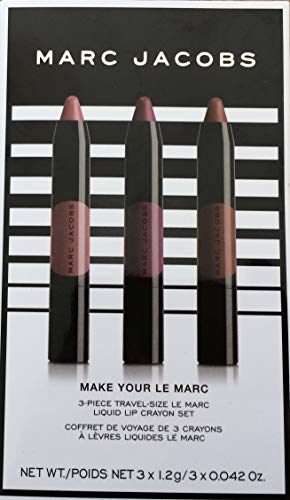 Marc Jacobs Beauty Make Your Le Marc 3 Piece Mini Liquid Lip Crayon Set