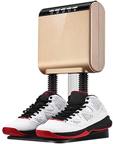 Secado de zapatos Calzado eléctrico Calentador de arranque secador, calentador de calzado de esquí portátil eléctrico, calcetines de los guantes de 52W Secado del pie, 15 minutos de secador de esteril