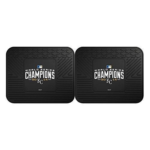 FANMATS 17360 Royals 2014 World Series Champions Utility Mat - 2 Piece