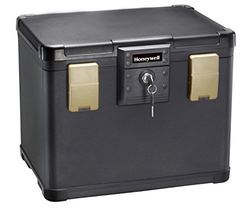 Honeywell Safes & Door Locks - 30 Minute Fire Safe Waterproof Filing Safe Box Chest (fits Letter and A4 Files), Medium, 1106