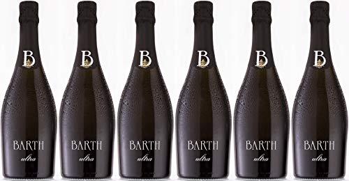 Barth Wein- und Sektgut Ultra Pinot Sekt 2013 Brut nature (naturherb) Bio (6 x 0.75 l)