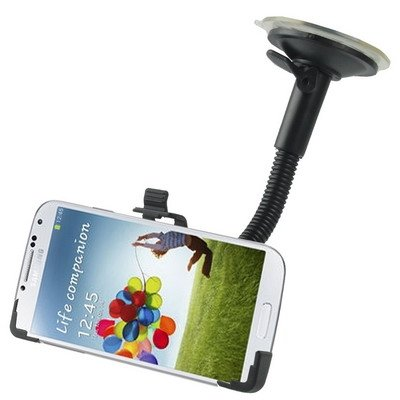 Autotelefoon mount Car Dashboard Base zuignap Car Holder, for Galaxy S IV / i9500 (zwart) mobiele telefoon houders voor auto's