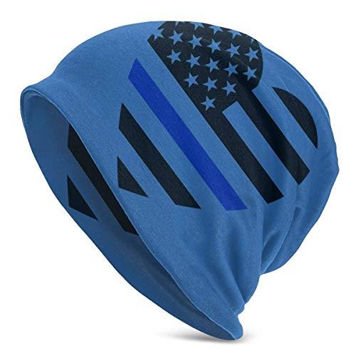 XCNGG Blaue dünne Linie Herz Frauen Männer stilvolle Mütze Hut Stretch Strick...